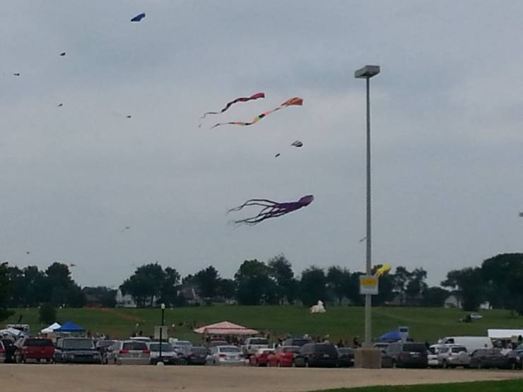 Watching kites glitter through the sky at the DeKalb County Kite Fest. Creative inspiration is everywhere!