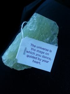 Celebrating autumn grace through crystal healing and the words of Yogi Tea