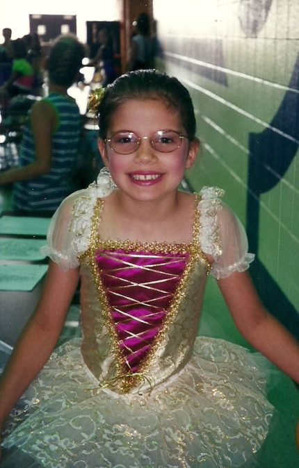 My dance career circa 1999.